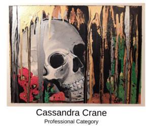 Cassandra Crane Canvas to Cuff Art Show Submission 2019 in Farmington, Missouri