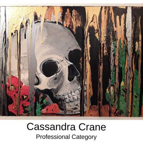 Cassandra Crane Canvas to Cuff Art Show Submission 2019 in Farmington, Missouri