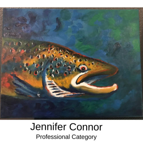 Jennifer Connor Canvas to Cuff Art Show Submission 2019 in Farmington, Missouri