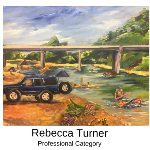 Rebecca Turner Canvas to Cuff Art Show Submission 2019 in Farmington, Missouri