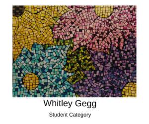 Whitley Gegg Canvas to Cuff Art Show Submission 2019 in Farmington, Missouri