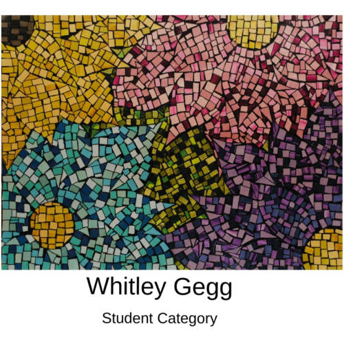 Whitley Gegg Canvas to Cuff Art Show Submission 2019 in Farmington, Missouri