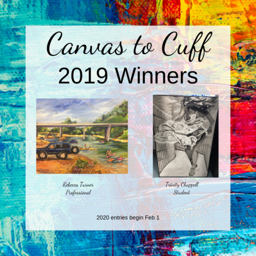 2019 Canvas to Cuff at Diamonds and More Jewelers, Farmington MO, Winners